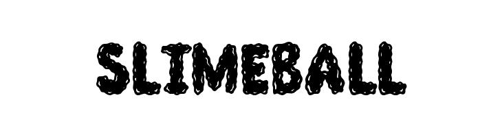 Slimeball  नि: शुल्क फ़ॉन्ट्स डाउनलोड