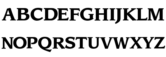 Sling Bold لخطوط تنزيل الأحرف الكبيرة
