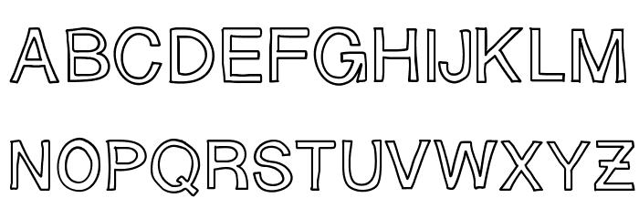 SloppyHollow لخطوط تنزيل الأحرف الكبيرة