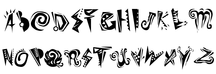 Slumgullion Plain Font UPPERCASE