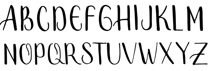 Smally Rose Free Font Litere mari