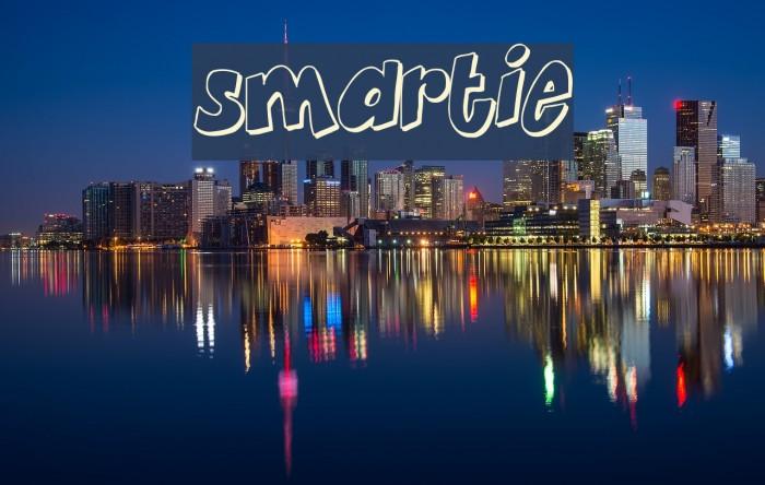 Smartie Font examples