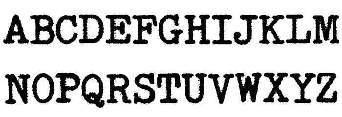 SmithyXY-VeryHeavy Caratteri MAIUSCOLE