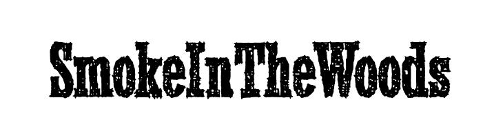 SmokeInTheWoods  Скачать бесплатные шрифты