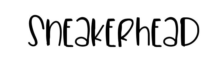 Sneakerhead  フリーフォントのダウンロード