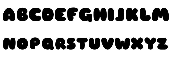 Sniglet ExtraBold Font UPPERCASE