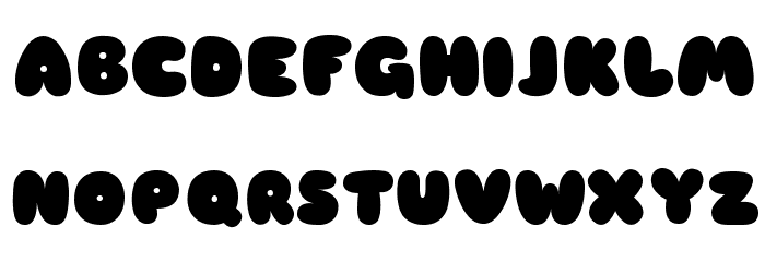 Sniglet Font UPPERCASE