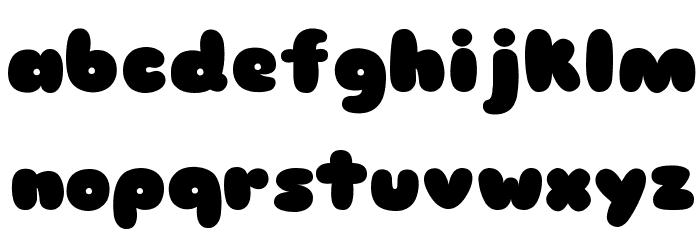 Sniglet Font LOWERCASE