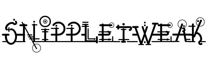 Snippletweak  Free Fonts Download