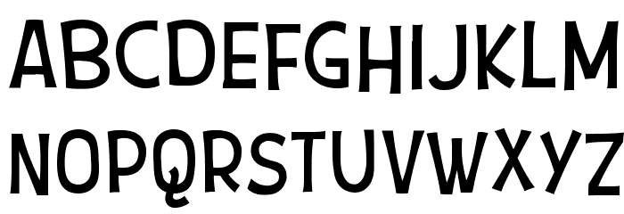 Snoopy Font UPPERCASE