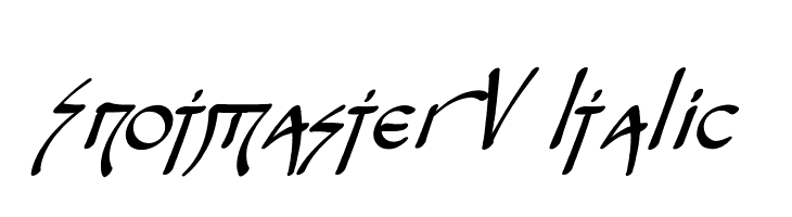 Snotmaster V Italic  Free Fonts Download