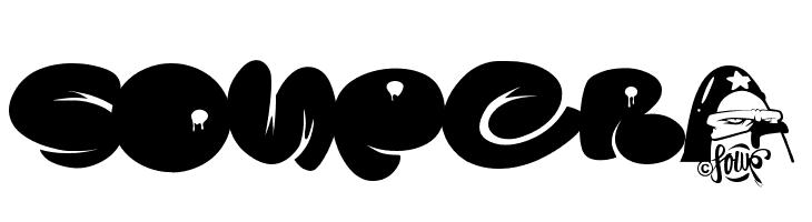 SOUPER3  Free Fonts Download