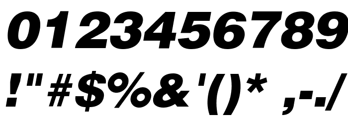 SoftMicro Font OTHER CHARS