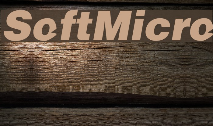 SoftMicro Font examples