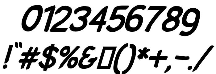 SolarCharger 952 Black Oblique Шрифта ДРУГИЕ символов