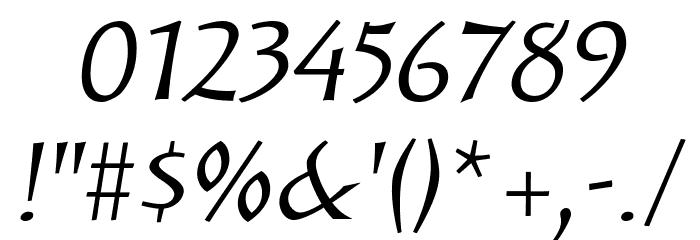 Solveig Text Italic Fonte OUTROS PERSONAGENS