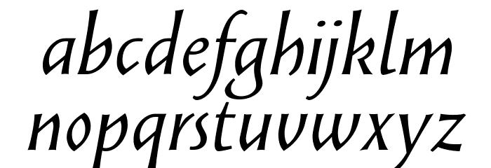 Solveig Text Italic Fonte MINÚSCULAS