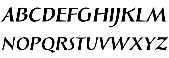 SolveigBold-Italic Fonte MAIÚSCULAS