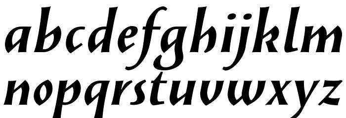 SolveigBold-Italic Fonte MINÚSCULAS