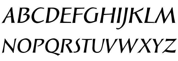SolveigDemiBold-Italic Fonte MAIÚSCULAS