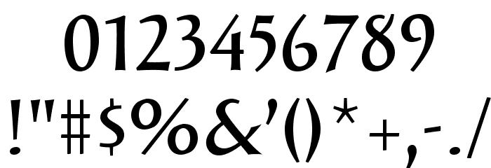 SolveigDemiBold Font OTHER CHARS