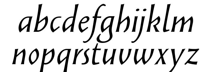 SolveigText-Italic Fonte MINÚSCULAS