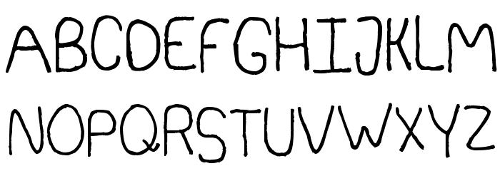 Somebercum Sans Serif Polices MAJUSCULES