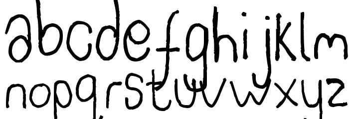 Somebercum Sans Serif Polices MINUSCULES