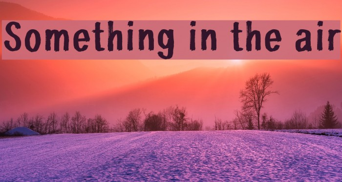 SOMETHINGS IN THE AIR DOWNLOAD
