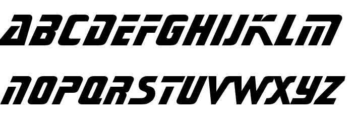Sonic Extra Bold BT Font LOWERCASE