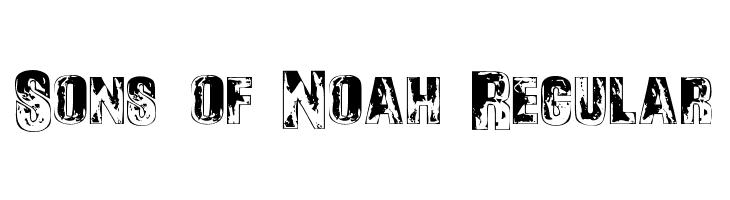 Sons of Noah Regular  Frei Schriftart Herunterladen