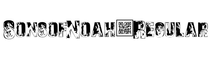 SonsofNoah-Regular  Frei Schriftart Herunterladen