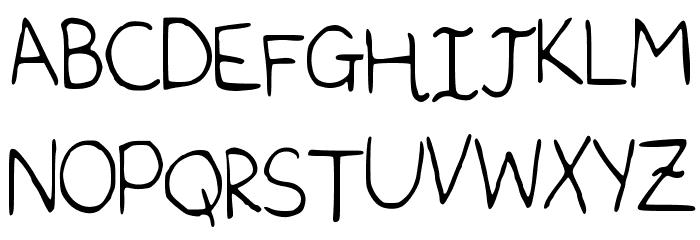 Sophomore Font Litere mari