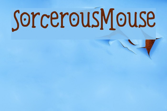 Sorcerous_Mouse Schriftart examples