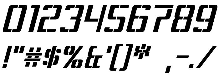 Sorenson Italic Шрифта ДРУГИЕ символов