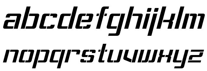 Sorenson Italic Шрифта строчной