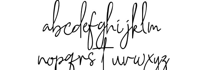 Southampton Font LOWERCASE