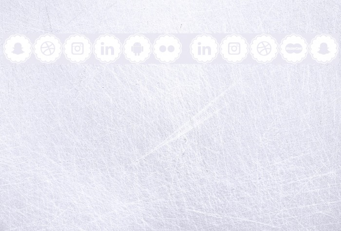 social icons Fonte examples
