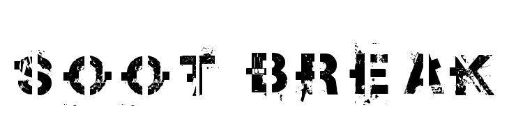 soot break  baixar fontes gratis