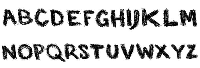 SP Caffeine  Regular Font UPPERCASE