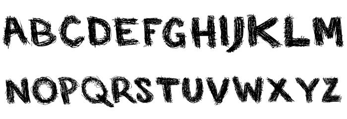 SP Caffeine  Regular Font LOWERCASE