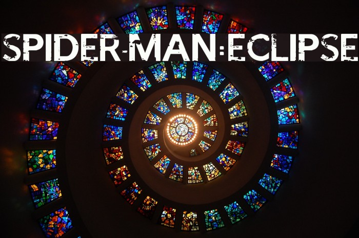 SPIDER-MAN:ECLIPSE フォント examples