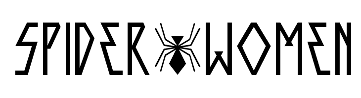 SPIDER-WOMEN  Free Fonts Download