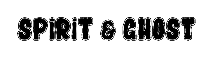SPIRIT & GHOST  Free Fonts Download