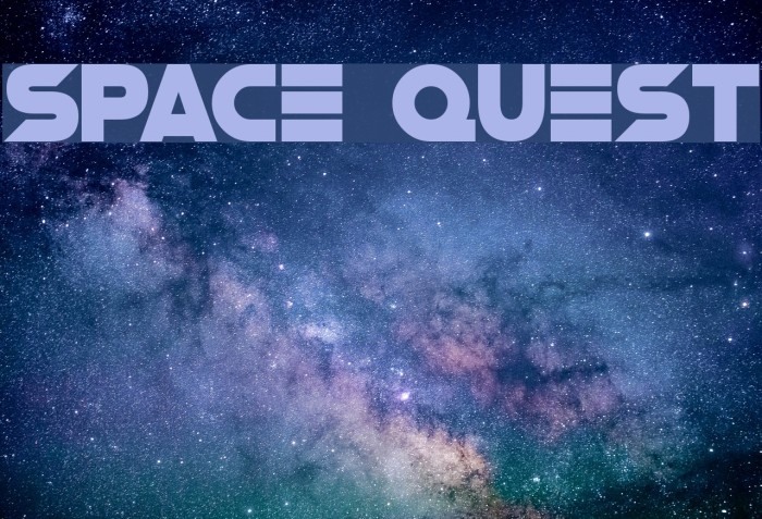 Space Quest Caratteri examples