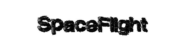 SpaceFlight  Free Fonts Download