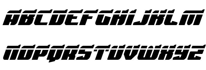 Spartaco Laser Font UPPERCASE