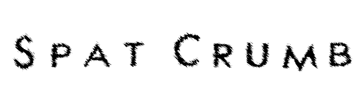 Spat Crumb  Free Fonts Download