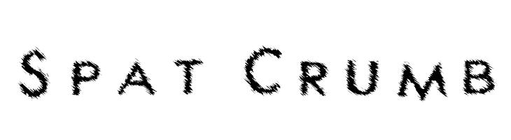 Spat Crumb  フリーフォントのダウンロード