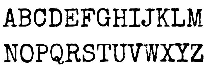 Special Elite 字体 大写